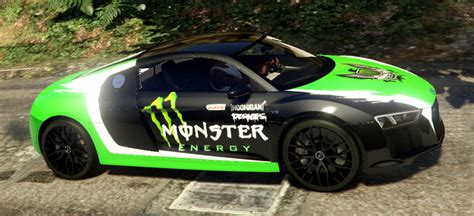 audi  darius monster energy livery gta modscom