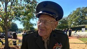 97-year-old three-war Marine veteran: 'I've had a good ...