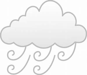 Windy or Foggy Weather - Free Clip Art