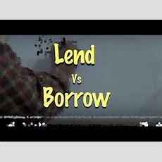 InglÉs 68 Lend Vs Borrow Inglés Para Hablantes De Español Tutorial Youtube