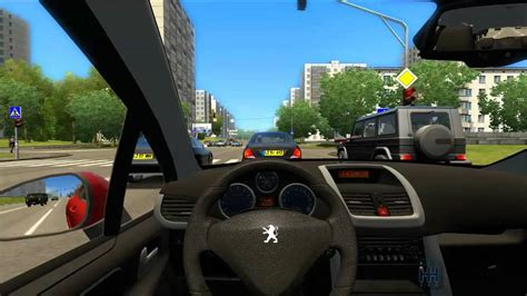 City Car Driving Peugeot 207 Youtube