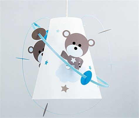 suspension chambre bébé garçon luminaire enfant casse noisette le suspension