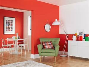 Peinture Murale Couleur : peinture murale couleur inspirations cool en 24 photos ~ Melissatoandfro.com Idées de Décoration