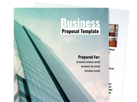 Find Your Proposal Template