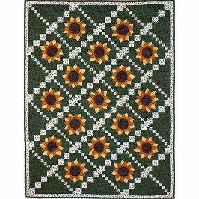 Sunflower Quilt Pattern Simply Sunflowers Quilterswarehouse