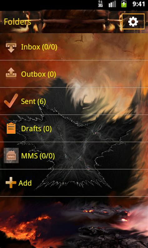 sms themes for android free go sms rebirth theme free app android freeware