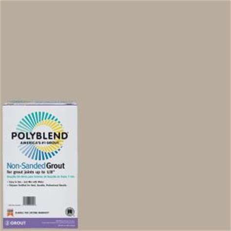 unsanded tile grout home depot custom building products polyblend 386 oyster gray 10 lb