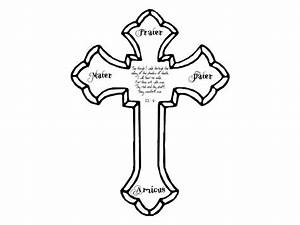 Cross Tattoo Outlines cross tattoo images & designs ...