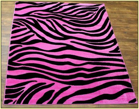 purple zebra print rug home decor