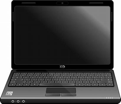 Laptop Vector Clipart Notebook Computer Clip Pc