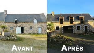 maison avant apres renovation bricolage maison With photo maison renovee avant apres