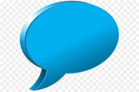 blue speech balloon speech bubble blue transparent png