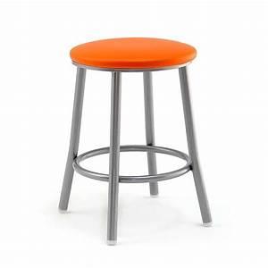 Tabouret 4 Pieds : tabouret bas en m tal levante 4 pieds tables chaises et tabourets ~ Teatrodelosmanantiales.com Idées de Décoration