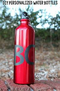 diy personalized water bottles a little craft in your With how to personalize water bottles diy