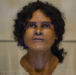 Pictured: The 1,800-year-old face of 'Beachy Head Lady ...