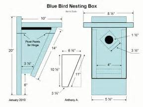 eastern bluebird house plans bluebird nest box plans how to build a peterson bluebird house