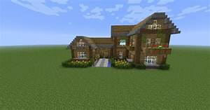 Video De Minecraft Maison : tuto faire une belle maison minecraft en survie youtube ~ Zukunftsfamilie.com Idées de Décoration