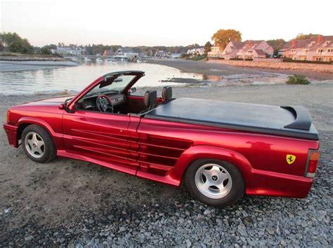 ferrari truck 1989 ferrari testarossa customized convertible pickup
