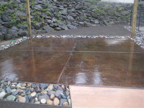 tub foundation gravel outdoor spa foundation