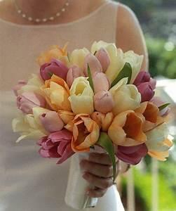 Tulips Wedding Bouquet Sang Maestro