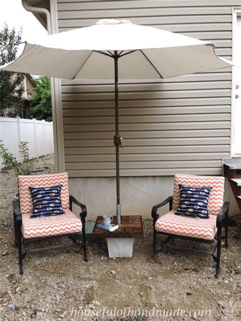 umbrella stand side table  houseful