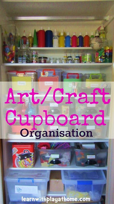 Cupboard Organization by Best 25 Craft Cupboard Ideas On Shoe Storage