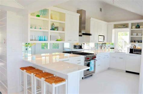 cuisines laqu馥s blanches cuisine blanche laquée 99 exemples modernes et élégants