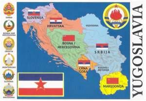 Yugoslavia Map World
