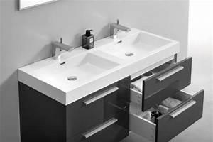 Meuble Salle De Bain 100 Cm Double Vasque. meuble salle de bain ...
