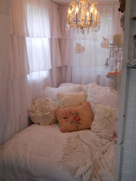 shabby chic tiny retreat hosting  party   tiny house