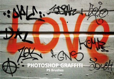 20 graffiti ps brushes abr vol 4 abstract photoshop brushes brushlovers