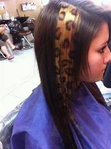 Animal Print Hair Super Cute My Style Pinterest
