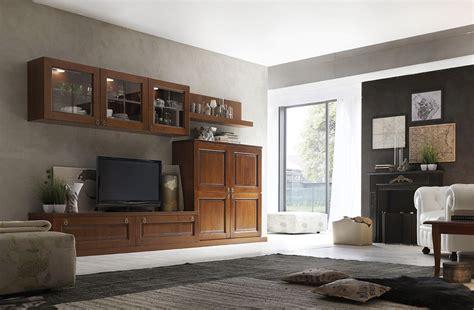 soggiorni componibili classici soggiorni classici mobilificio la noce