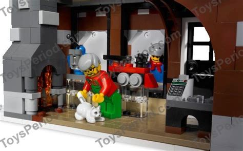 Lego 10199 Winter Toy Shop Set Parts Inventory And