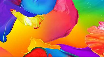 Abstract Paint Background Backgrounds Colorful Pattern Colored