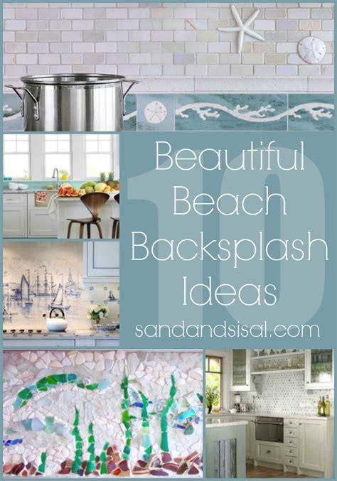 where to buy used kitchen cabinets coastal and beach backsplash ideas sand and sisal