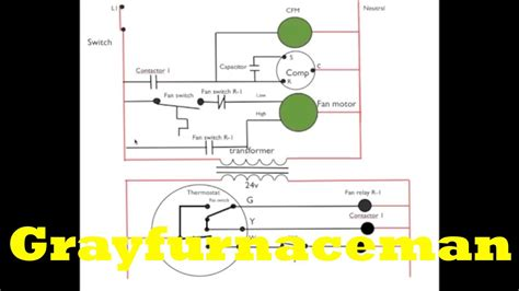 schematic diagram 9 air conditioning