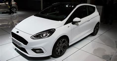 ford fiesta st  showcased  iaa