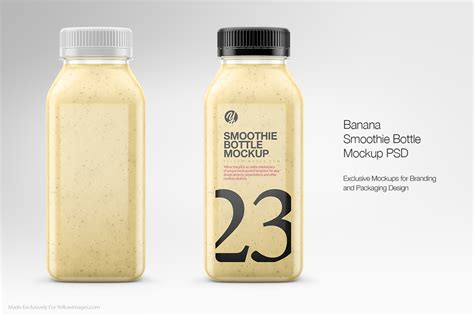 Simple edit with smart layers. Clear Plastic Bottles Mockups on Behance