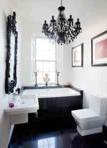 duravit badezimmer moderner barock in schwarz weiß roomido