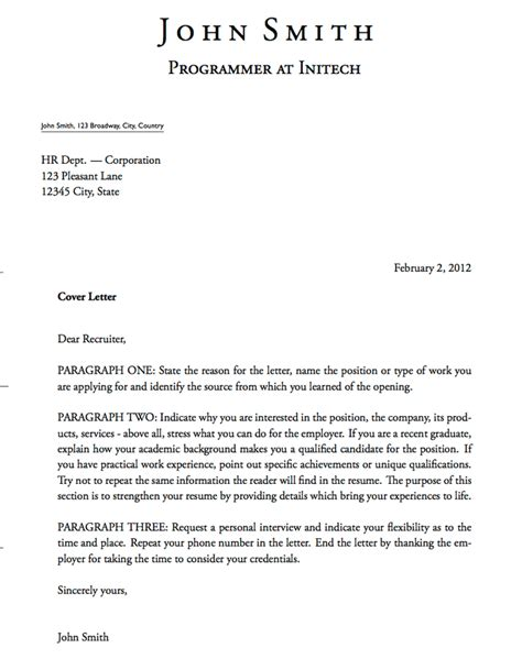 cover letter templates word excel  templates