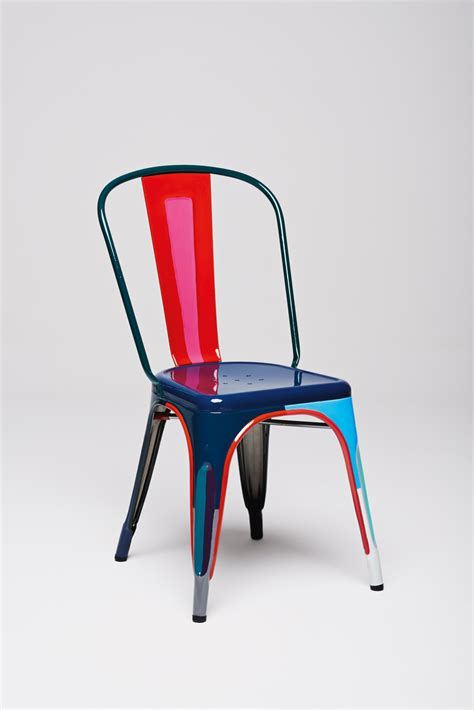 designers interpret the tolix a chair sight unseen