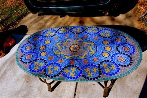 Perfect Design Of Mosaic Tile Table ? HOUSE PHOTOS