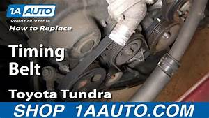 How To Replace Toyota Tundra Timing Belt 2002 V8
