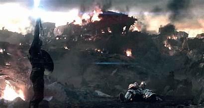 Mjolnir Iron Captain America Endgame Vs Mcu