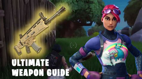 Ultimate Fortnite Weapons Stats (battle Royale Guide