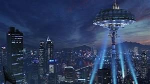 futuristic, buildings, skyscrapers, science, fiction, 2560x1600, , , wallpapers13, com