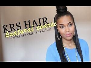 KRS Hair Group Knatural Coarse 7 Pc Clip In Set Review