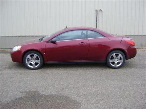 Buy Used 2008 Pontiac G6 Gt Convertible 2-door 3.9l In