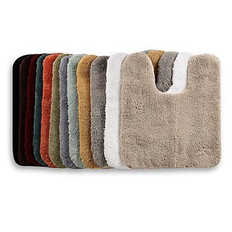 Wamsutta® Perfect Soft 21 Inch x 24 Inch Contour Bath Rug Bed Bath & Beyond